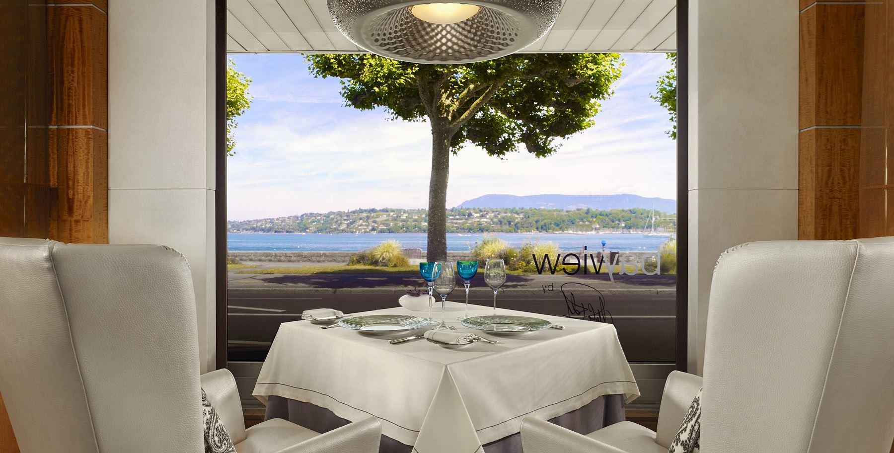 Restaurant Bayview By Michel Roth | Michelin Starred ... serapportantà Restaurant Avec Jardin Ile De France