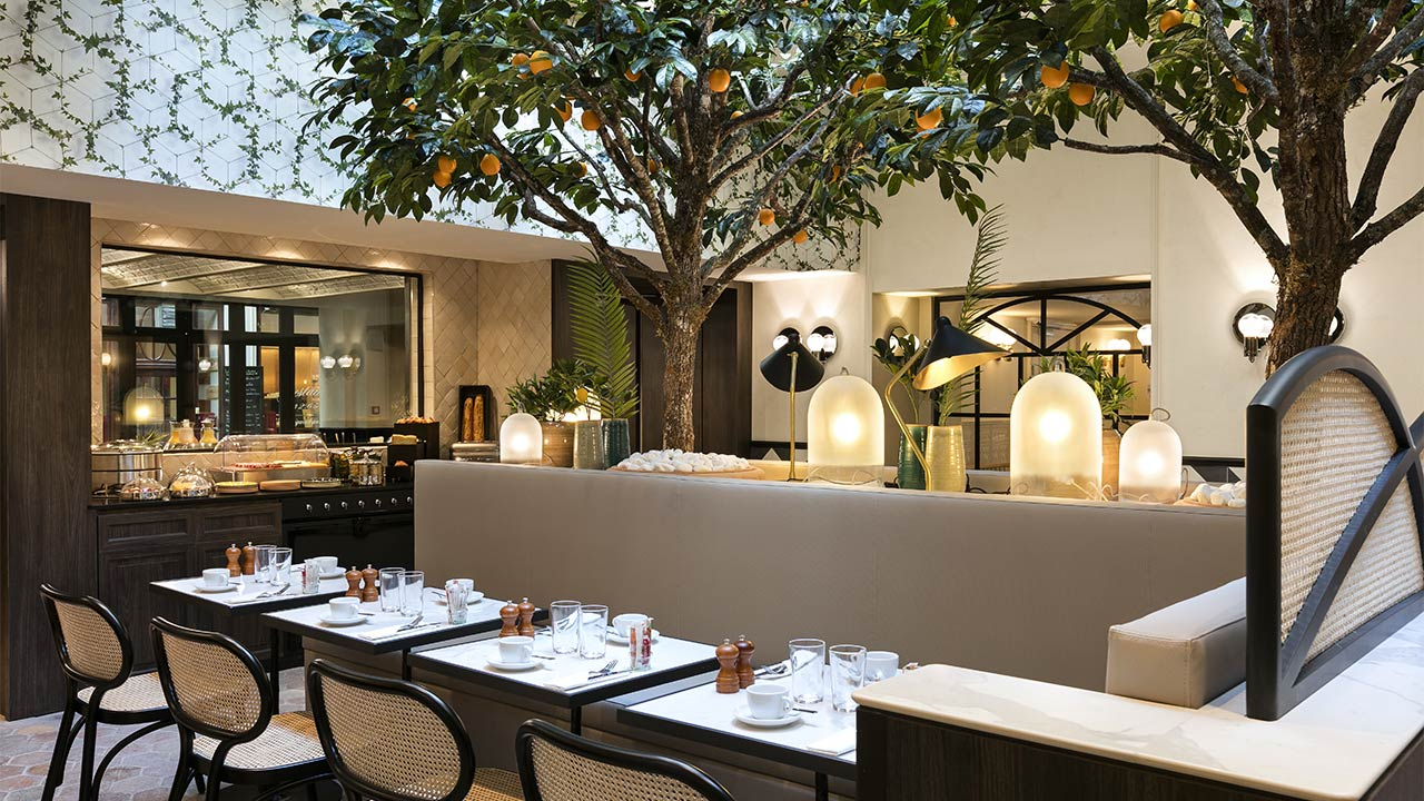 Restaurant | Hotel & Spa Royal Madeleine **** pour Jardin Express Code Promo