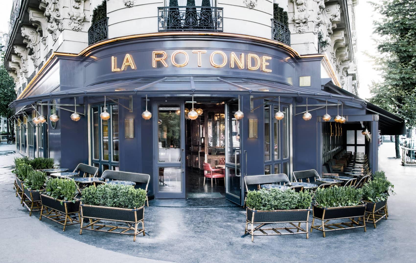 Restaurant La Rotonde De La Muette À Paris serapportantà Restaurant Avec Jardin Ile De France