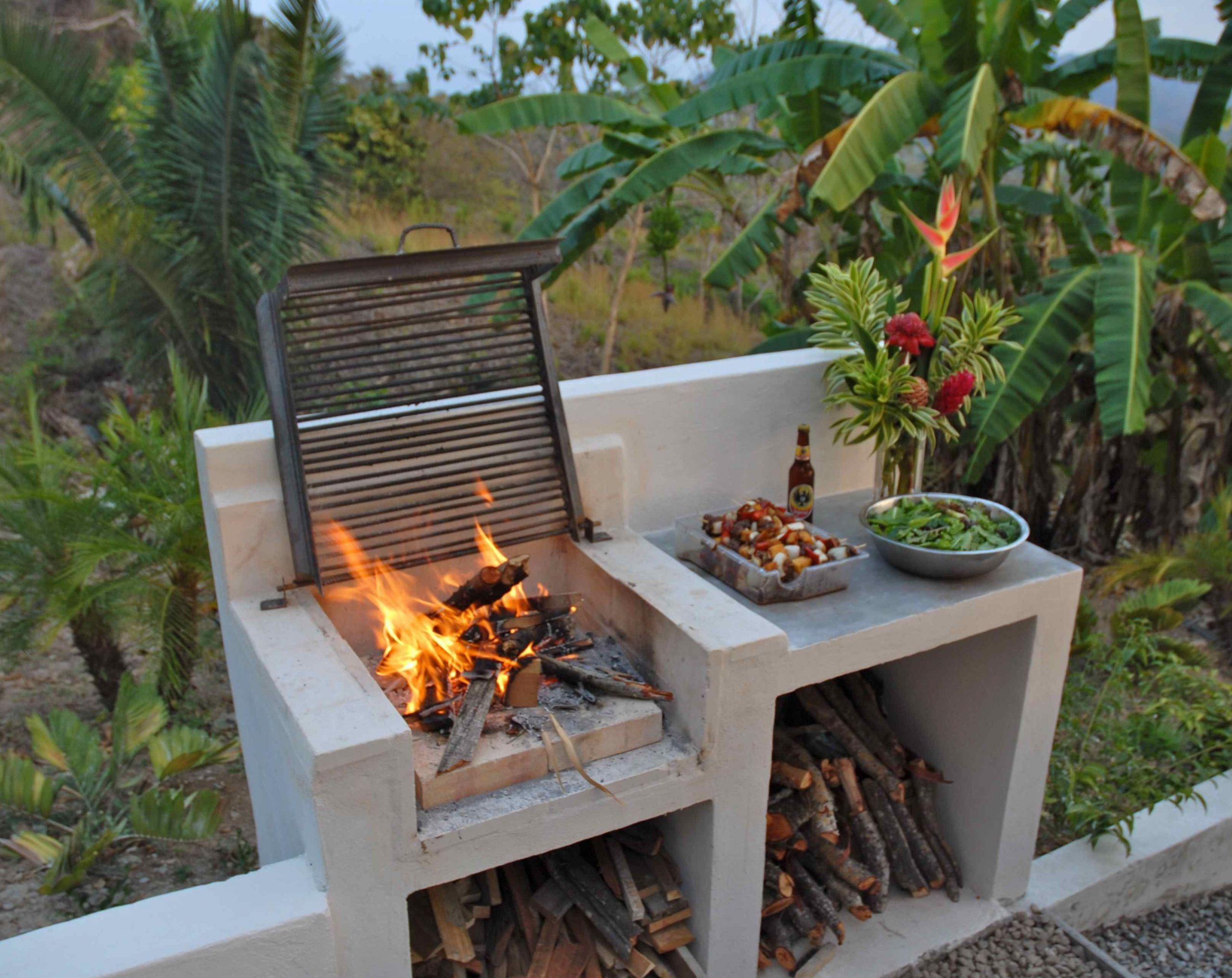 Resultado De Imagen Para Bbq Design | Aménagement Paysager ... concernant Barbecue De Jardin En Brique