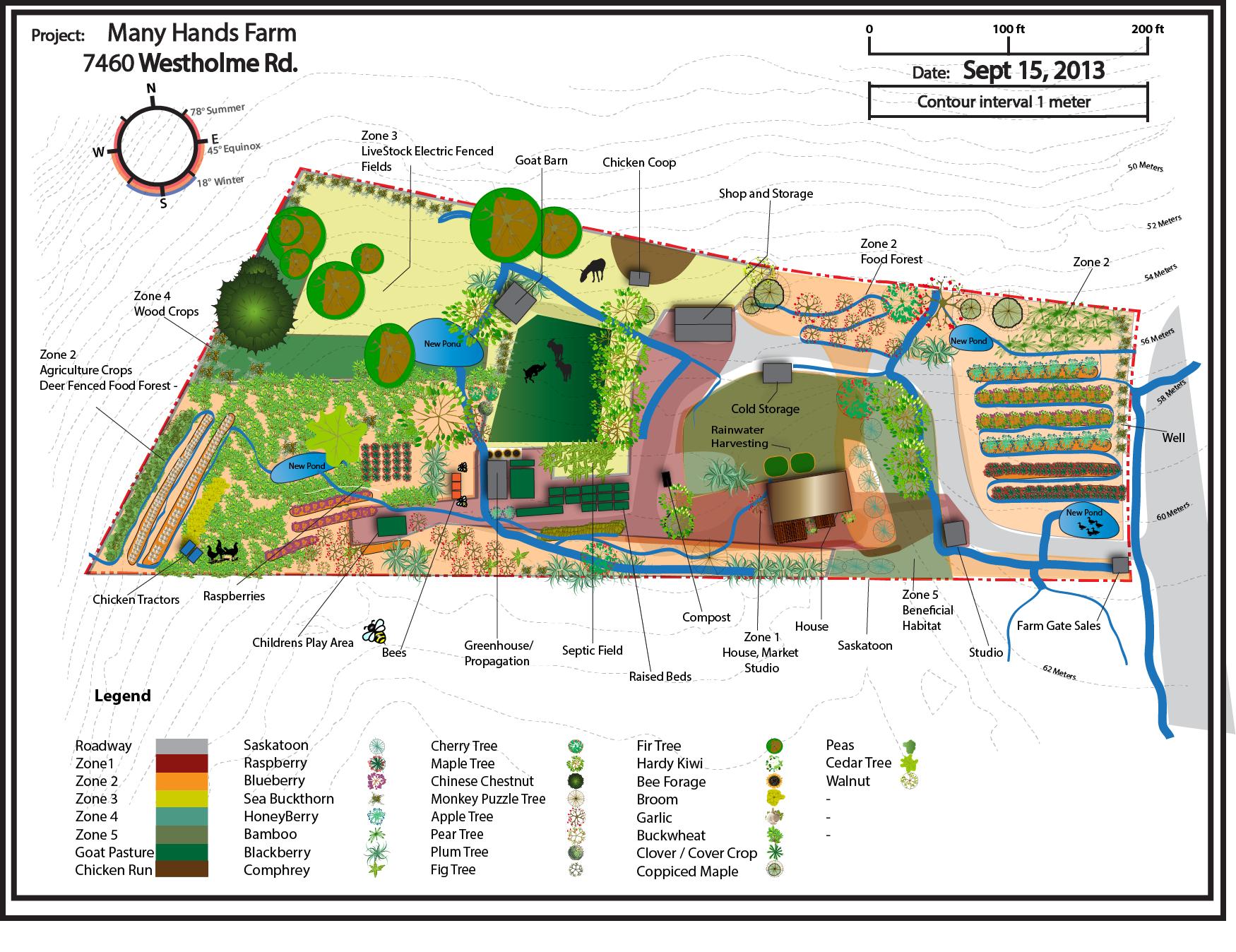 """Résultat De Recherche D'images Pour """"permaculture Design ... serapportantà Plan Jardin Potager Bio"""