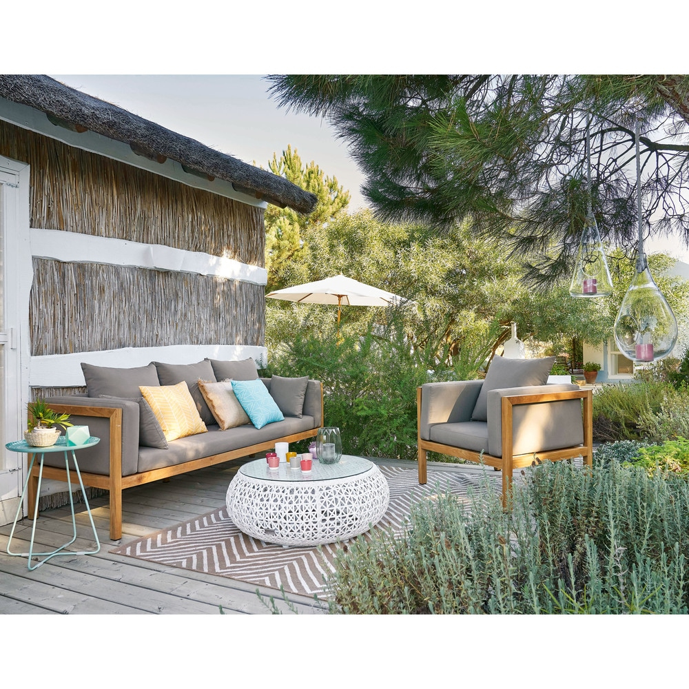 Revista Muebles - Mobiliario De Diseño tout Table De Jardin Maison Du Monde