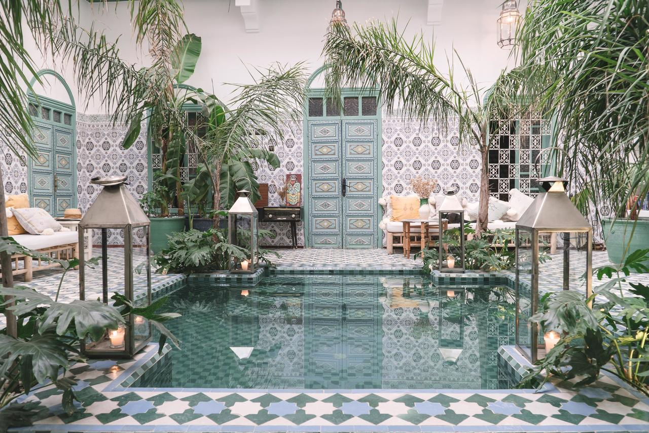 Riad Be Marrakech (Fas Marakeş) - Booking serapportantà Carrefour Maison De Jardin