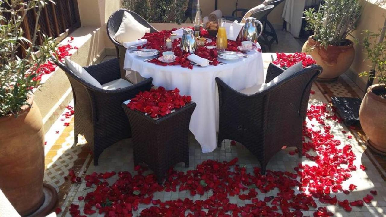 Riad Ilayka (Fas Marakeş) - Booking intérieur Restaurant Avec Jardin 78