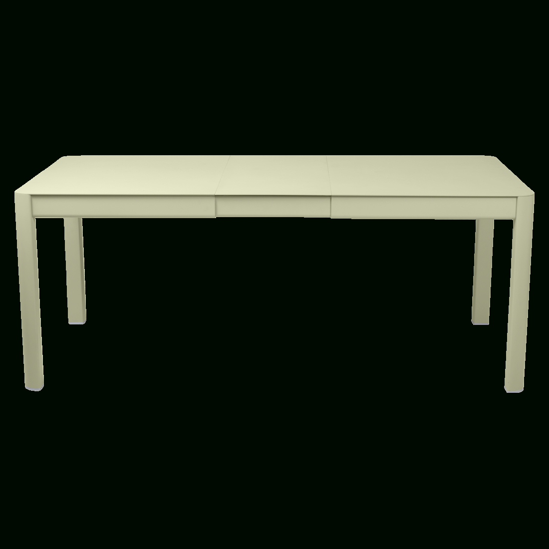 Ribambelle Table, Metal Garden Table For 8, Garden Table ... serapportantà Table Jardin Verte