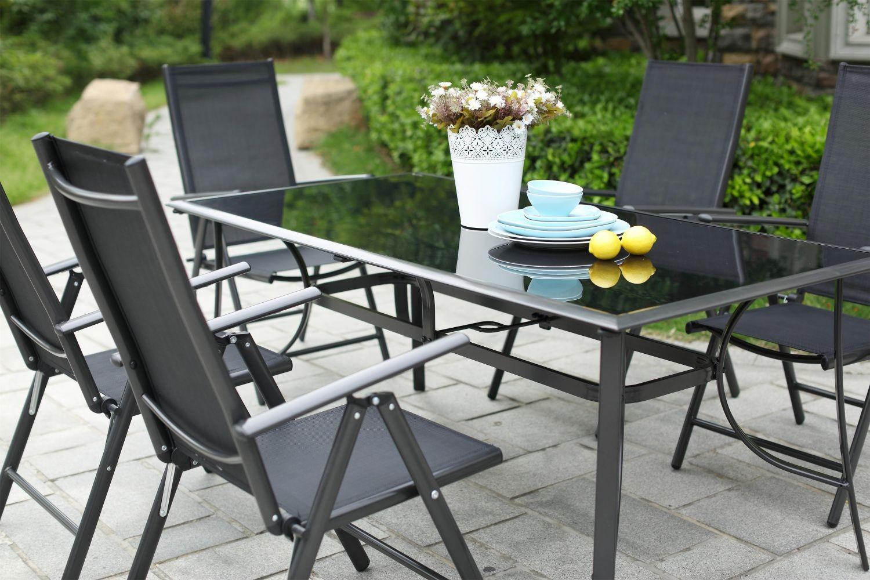 Rimini 10 concernant Table Et Chaise De Jardin En Aluminium