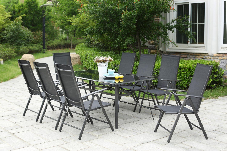 Rimini 8 encequiconcerne Table Et Chaise De Jardin En Aluminium
