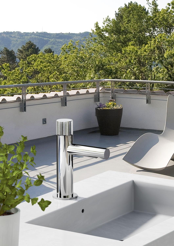 Robinet Pour Fontaine / À Poser / En Acier / De Jardin ... serapportantà Robinet Jardin Design