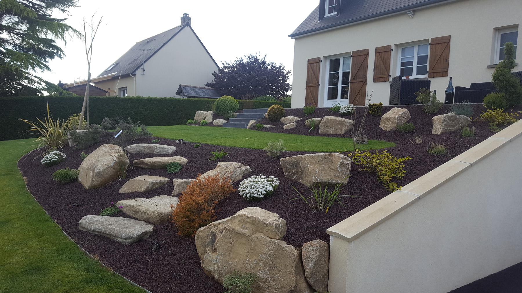 Rocaille De Jardin - Plante De Rocaille | Paysages Conseil dedans Comment Creer Un Jardin Paysager