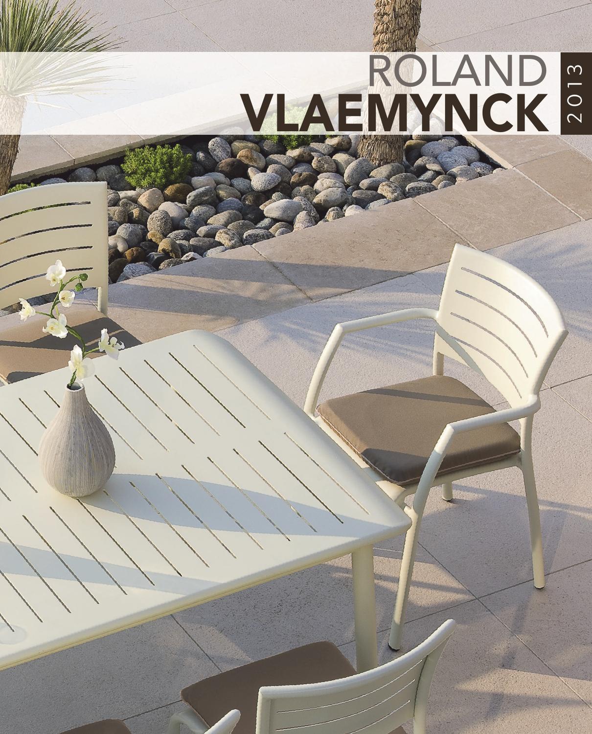 Roland Vlaemynck Outdoor Furniture Catalogue By Roland ... concernant Mobilier De Jardin Vlaemynck