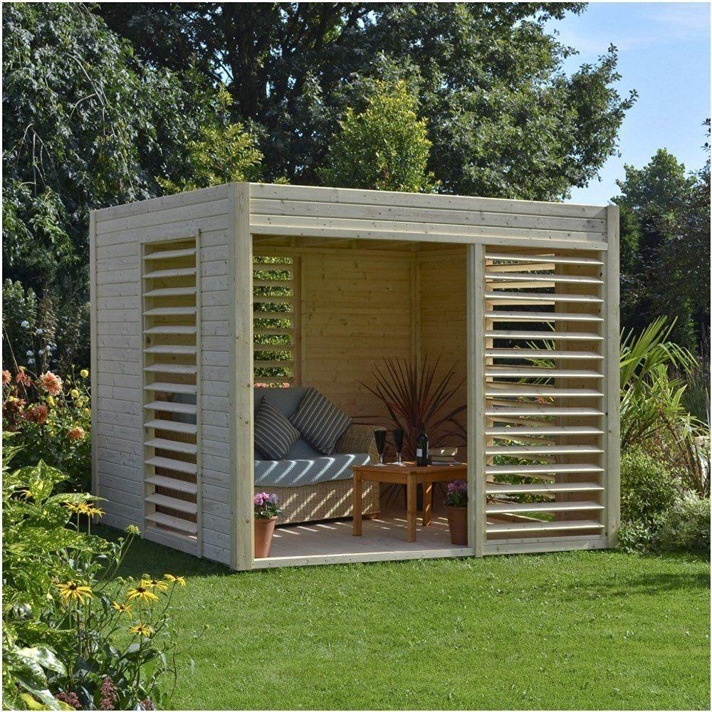 Rowlinson Carmen Pavilion - Natural: Amazon.co.uk: Garden ... à Abri De Jardin Hornbach