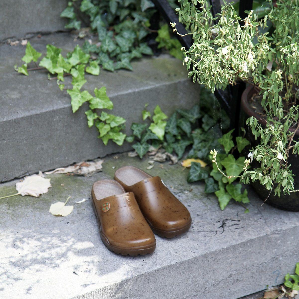 Sabots De Jardin Au Chanvre | Clogs, Birkenstock à Sabot De Jardin