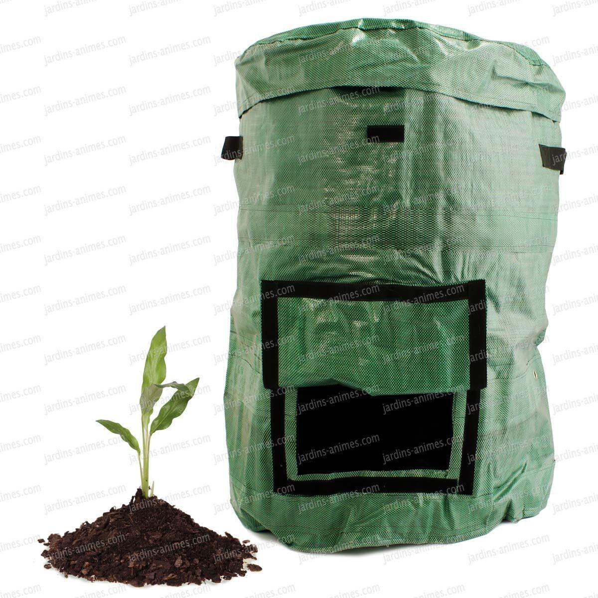 Sac Composteur Pliable 230L | Composteur, Composteur De ... destiné Composteur De Jardin