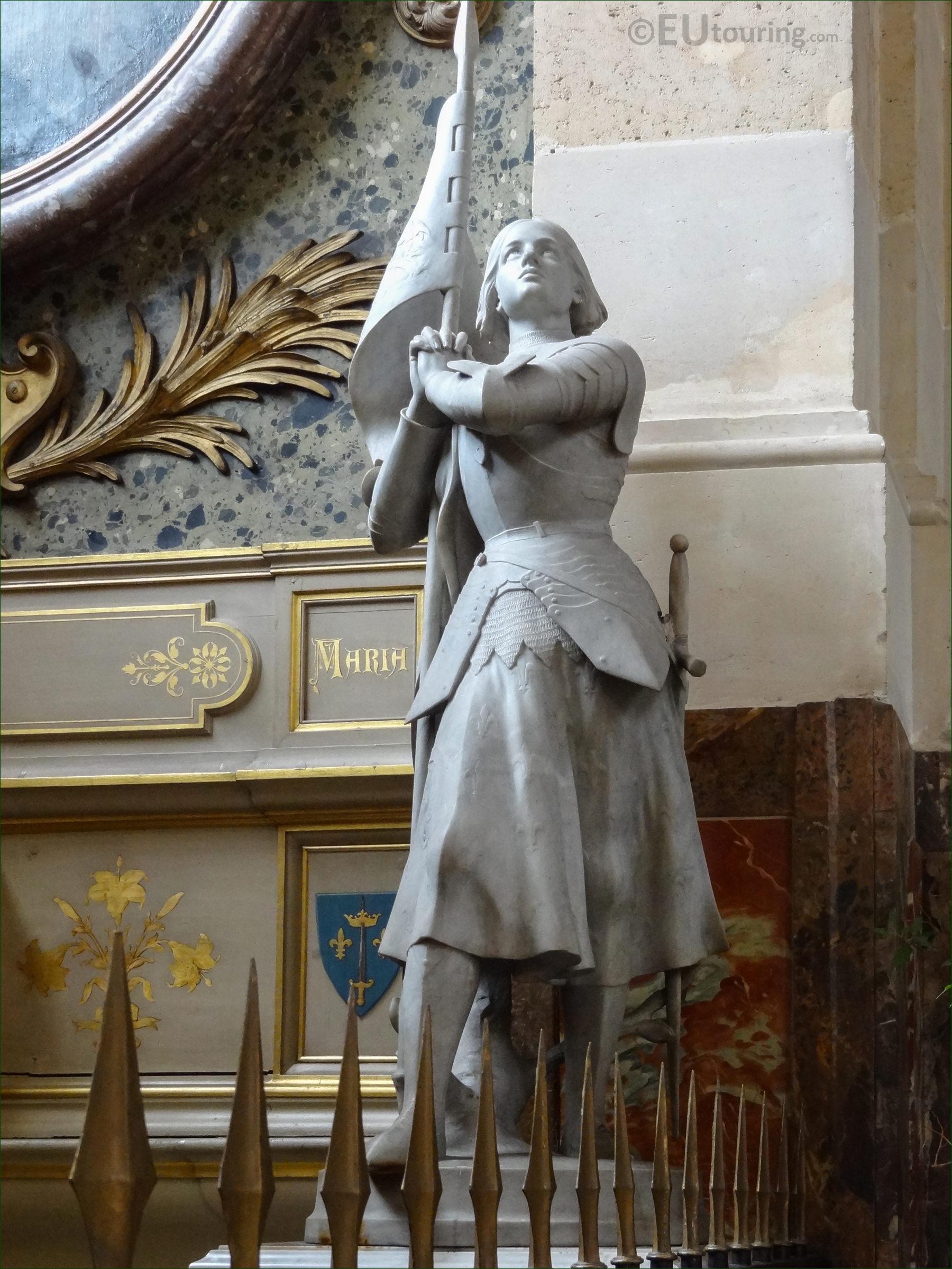 Sainte Jeanne D'arc Statue Inside Eglise Saint-Roch - Page 1101 serapportantà Statues De Jardin Occasion