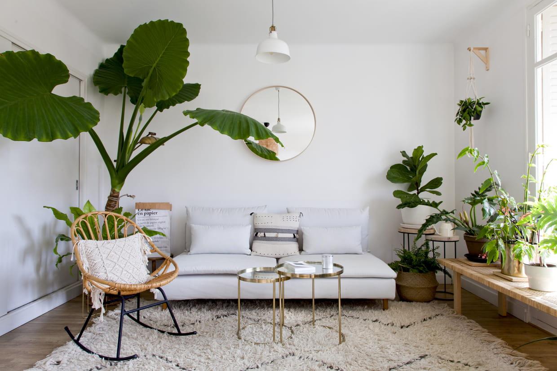 Salon Blanc : Les Plus Beaux Exemples Pour Un Intérieur Lumineux pour Salon De Jardin Lumineux