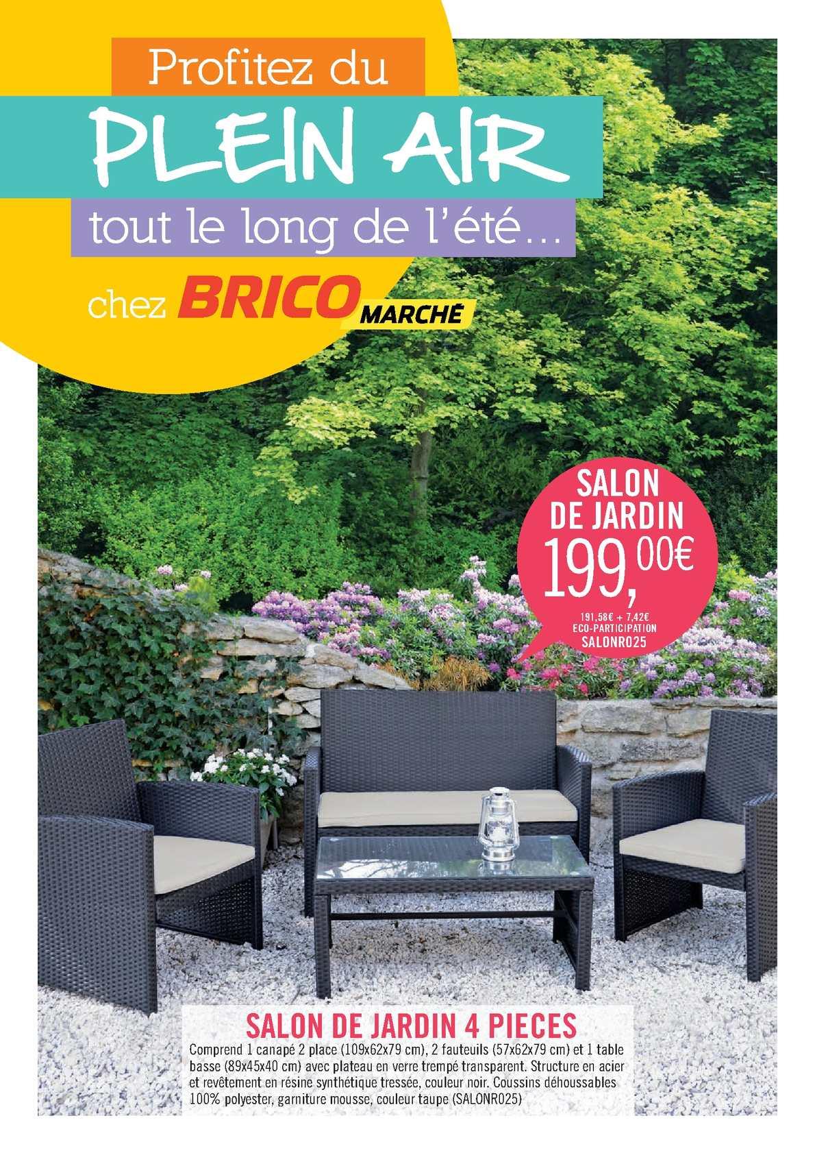 Salon Bricomarche De House Resine Ideas Stunning Jardin ... avec Table De Jardin Bricomarché