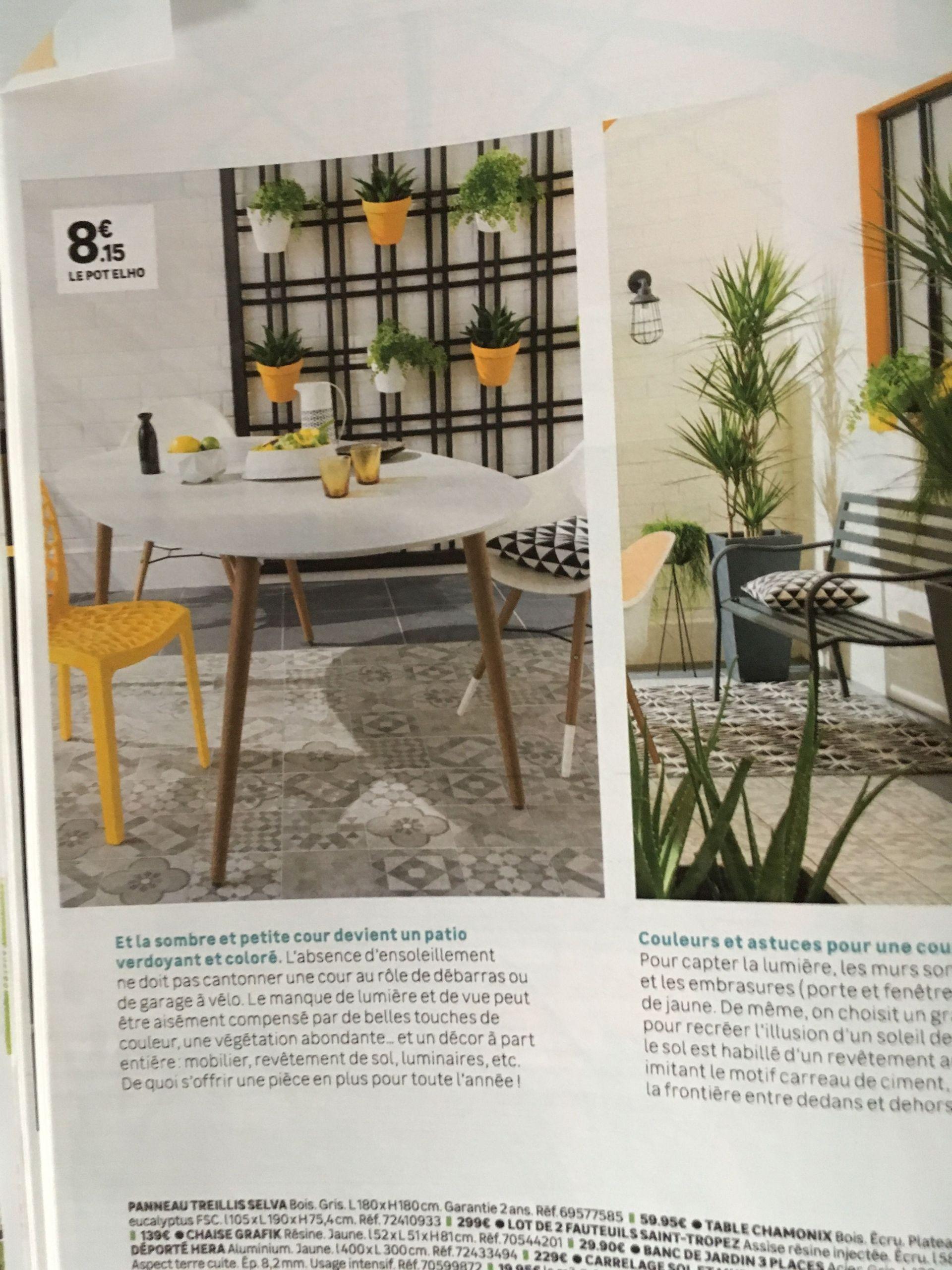 Salon De Jardin 8 Places Aluminium Best Of Épinglé Par ... intérieur Table De Jardin En Carrelage