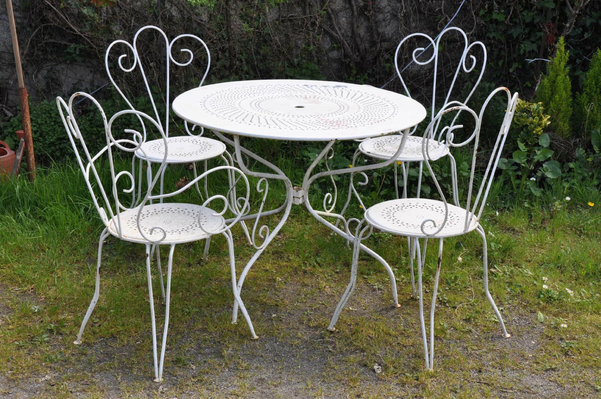 Salon De Jardin Aluminium Soldes - The Best Undercut Ponytail concernant Salon De Jardin En Métal Pas Cher