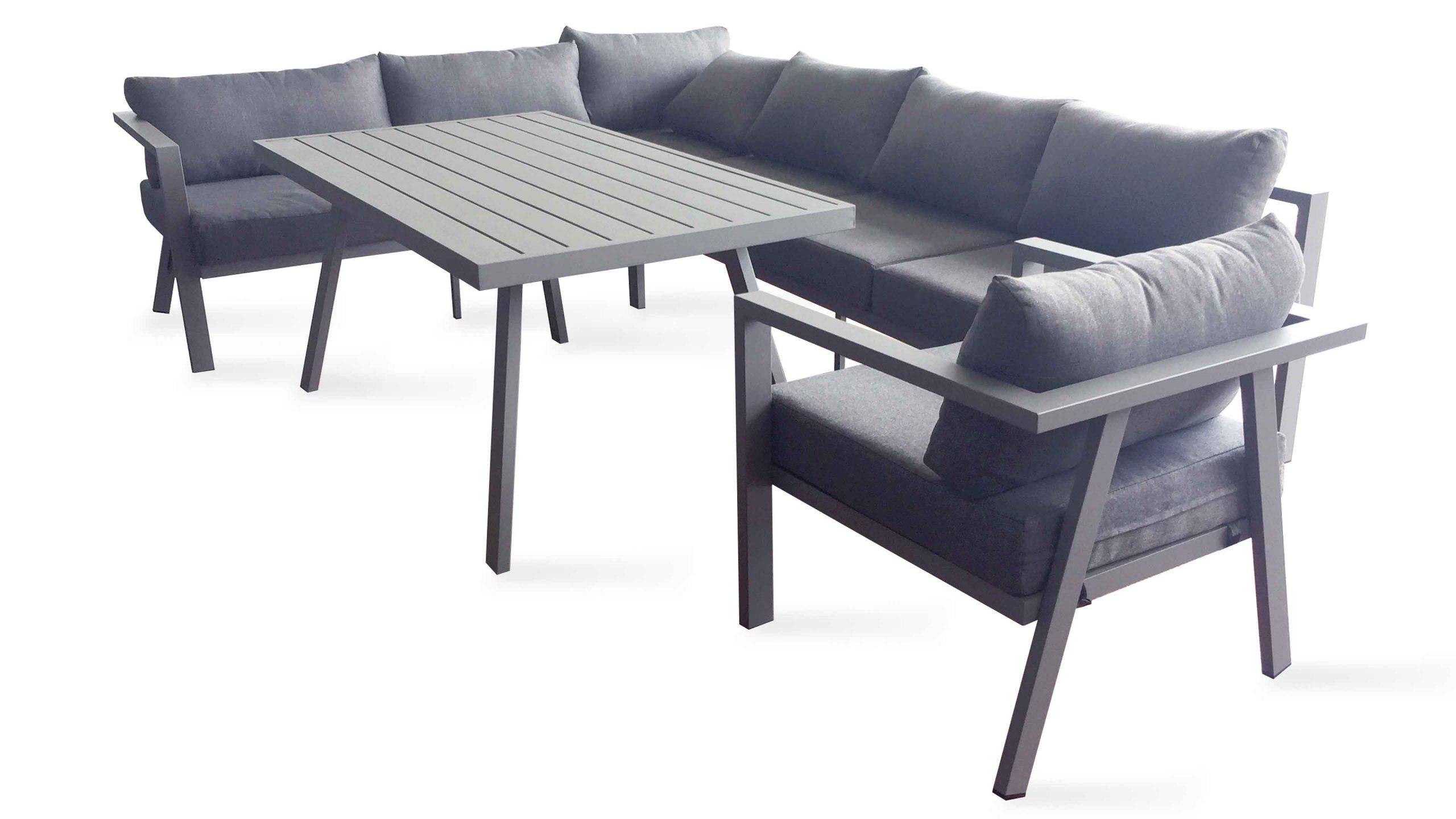 Salon De Jardin Angle Aluminium - The Best Undercut Ponytail intérieur Canapé De Jardin Aluminium