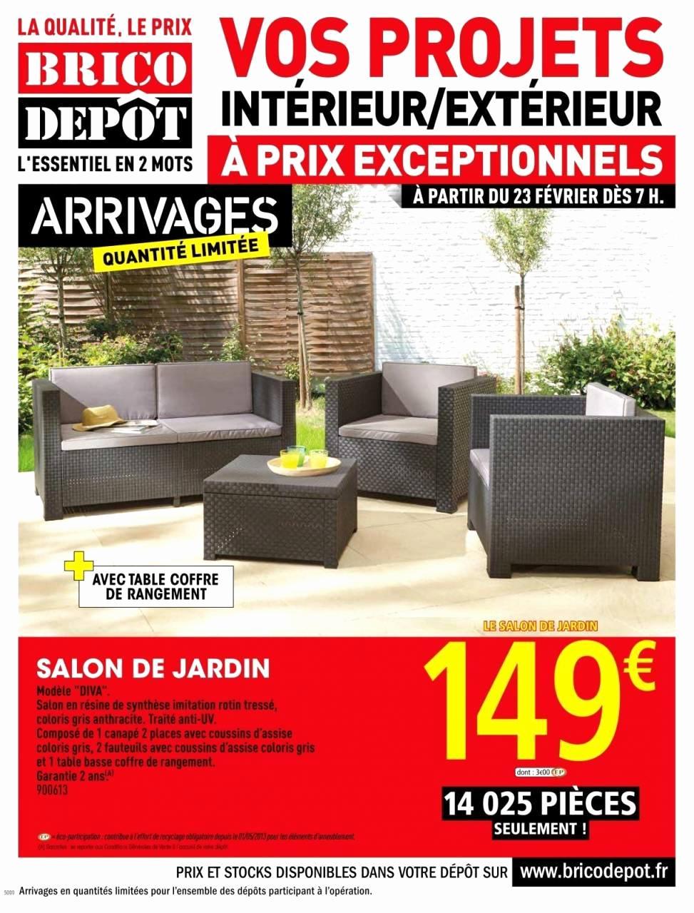 Salon De Jardin California Brico Depot Luxe Salon De Jardin ... dedans Salon De Jardin En Promo