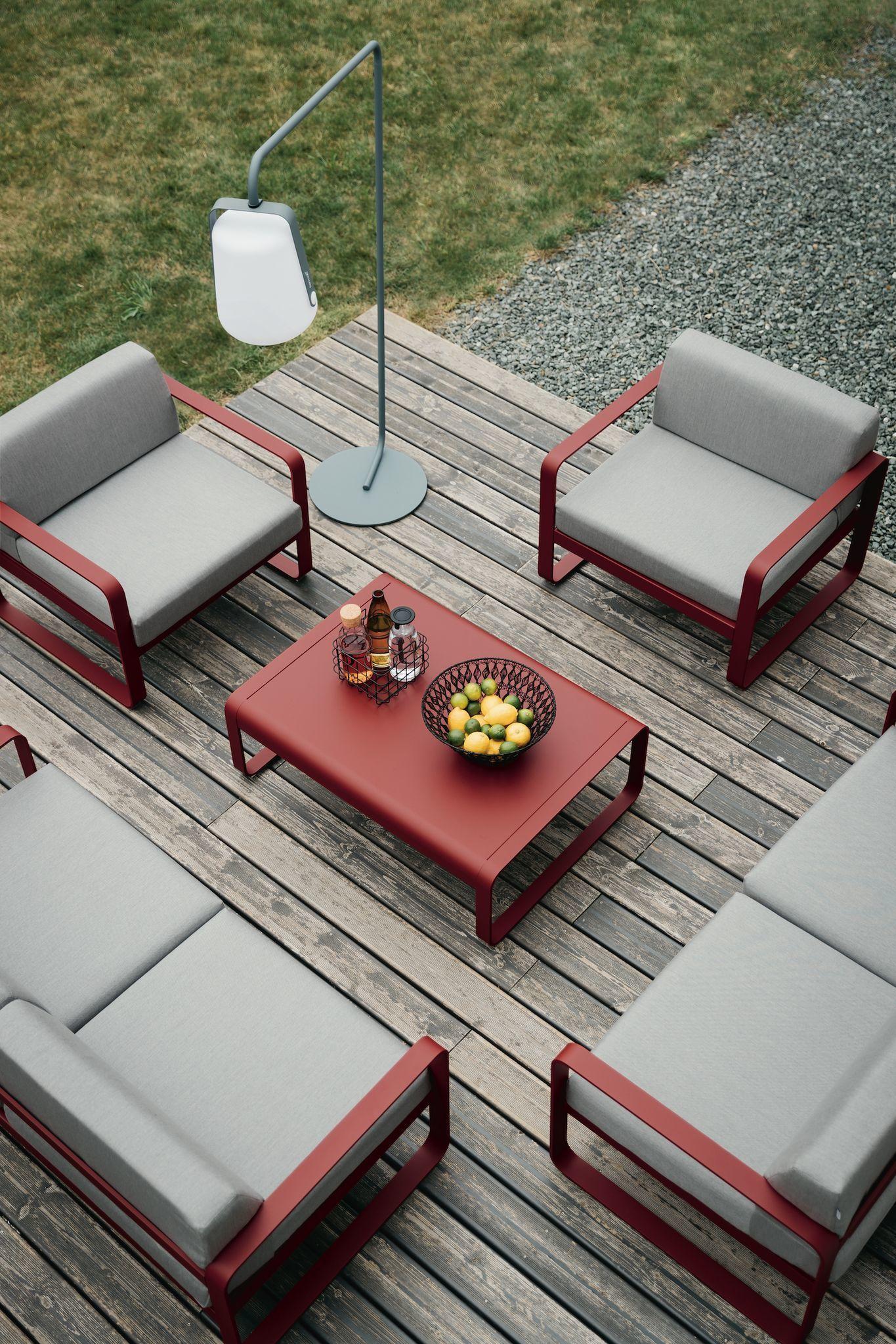 Salon De Jardin Design : Les Plus Beaux Modèles ... à Salon De Jardin En Fer Coloré