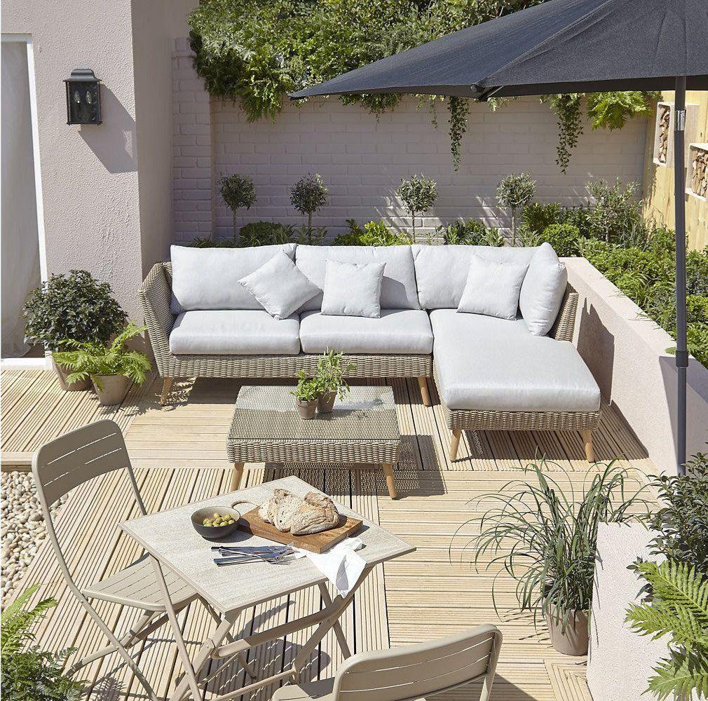 Salon De Jardin En Rotin Sulana | Salon De Jardin Castorama ... tout Coussin De Jardin Castorama