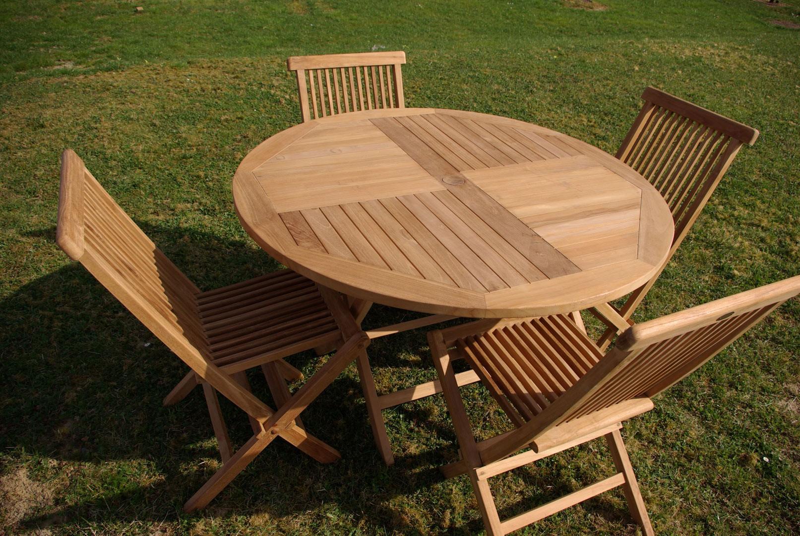 Salon De Jardin En Teck Concept - Idees Conception Jardin tout Table Et Chaise De Jardin En Teck Pas Cher