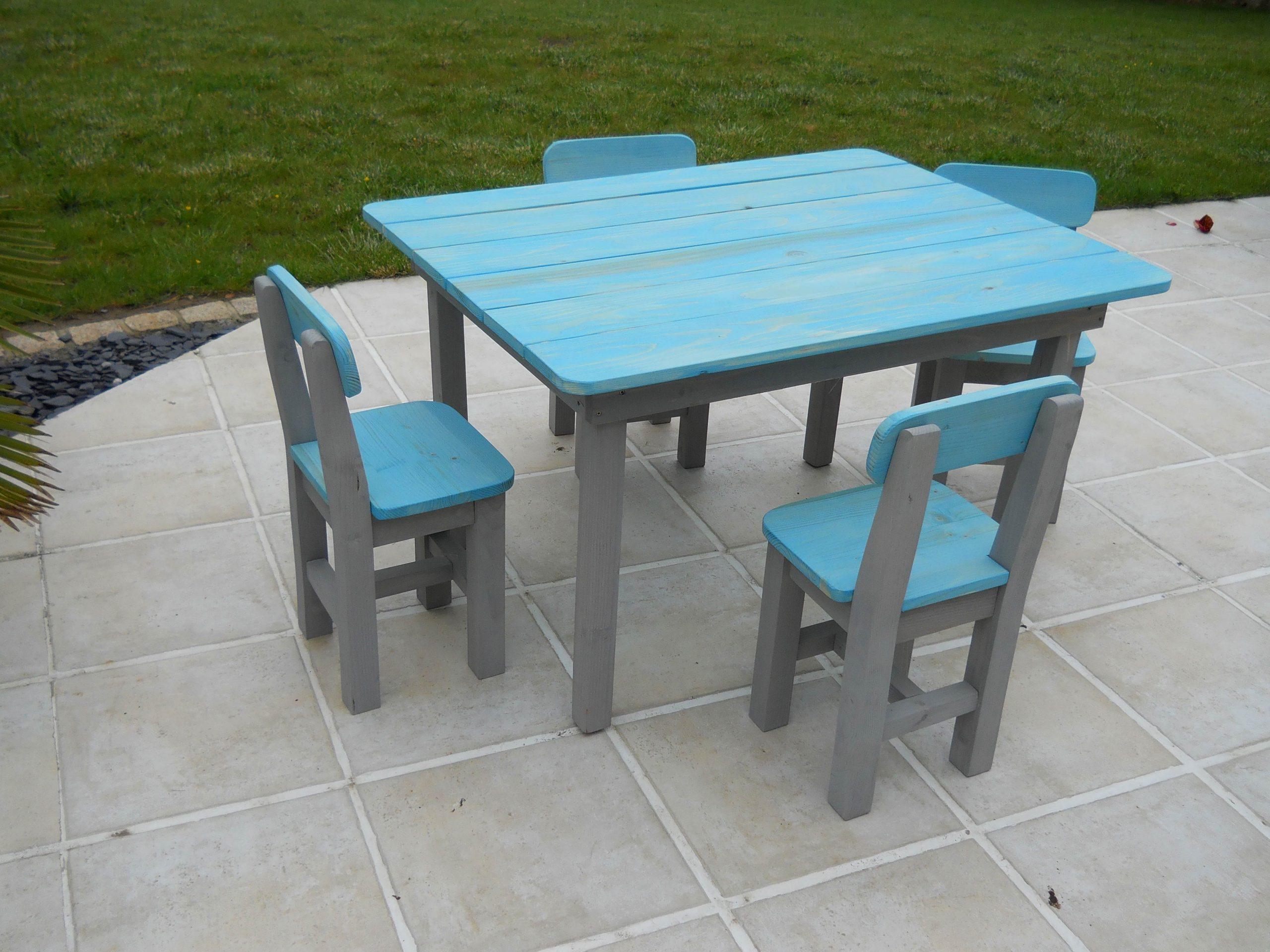 Salon De Jardin Enfant destiné Table De Jardin Enfants