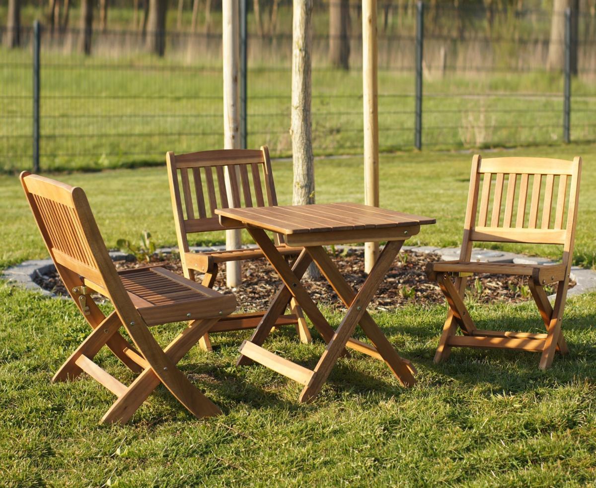 Salon De Jardin Enfant En Bois pour Table Et Chaise Jardin Enfant