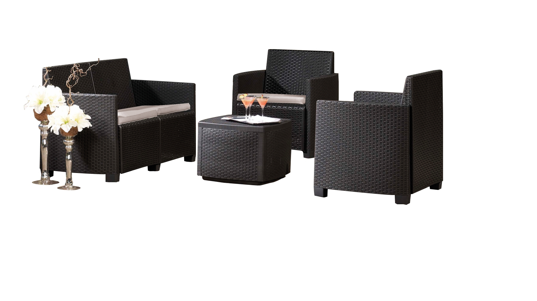 Salon De Jardin Etna Lounge - Mr.bricolage tout Salon De Jardin Monsieur Bricolage