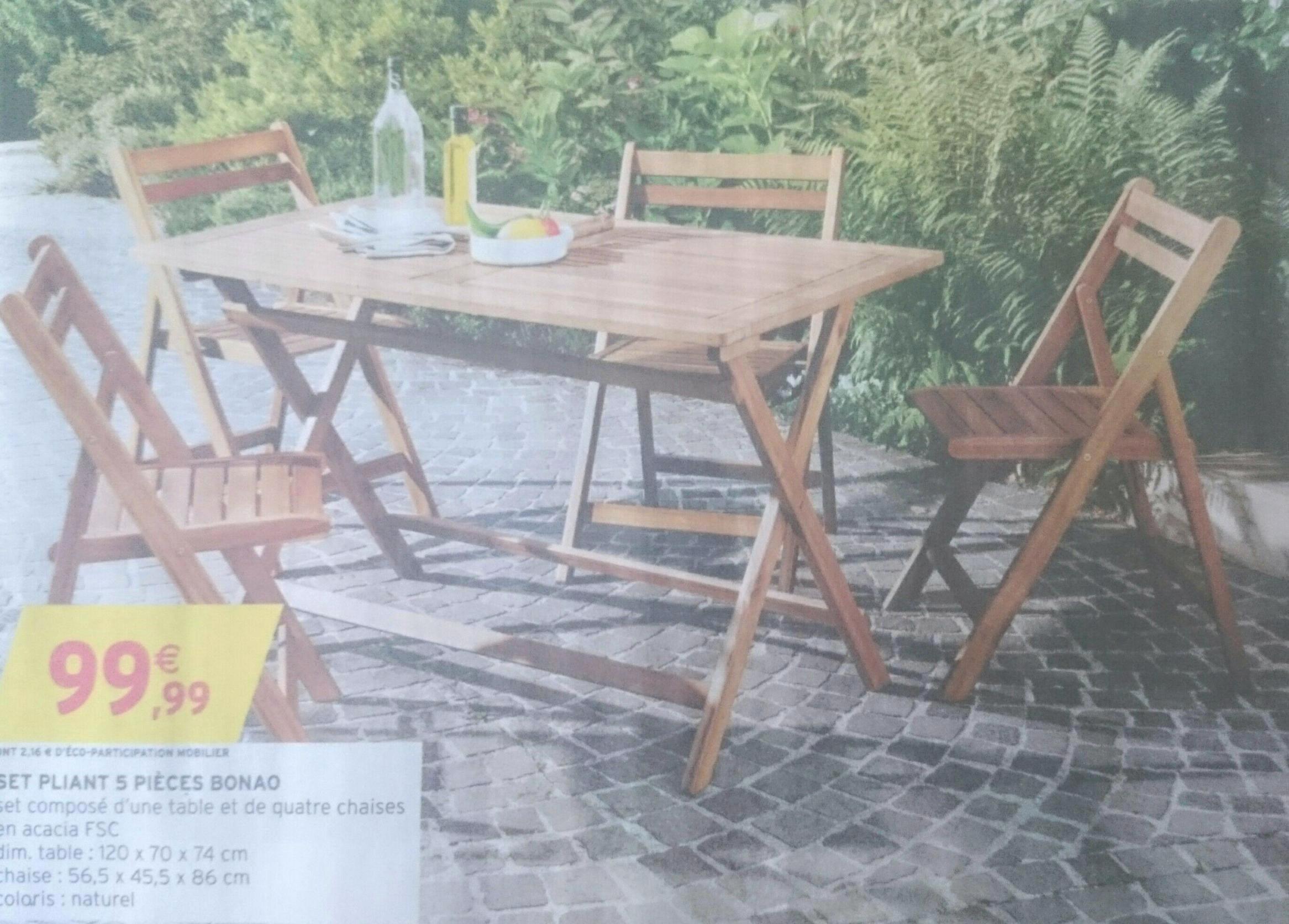 Salon De Jardin Intermarche 2018 Luxe Inspirational ... avec Salon De Jardin Intermarché