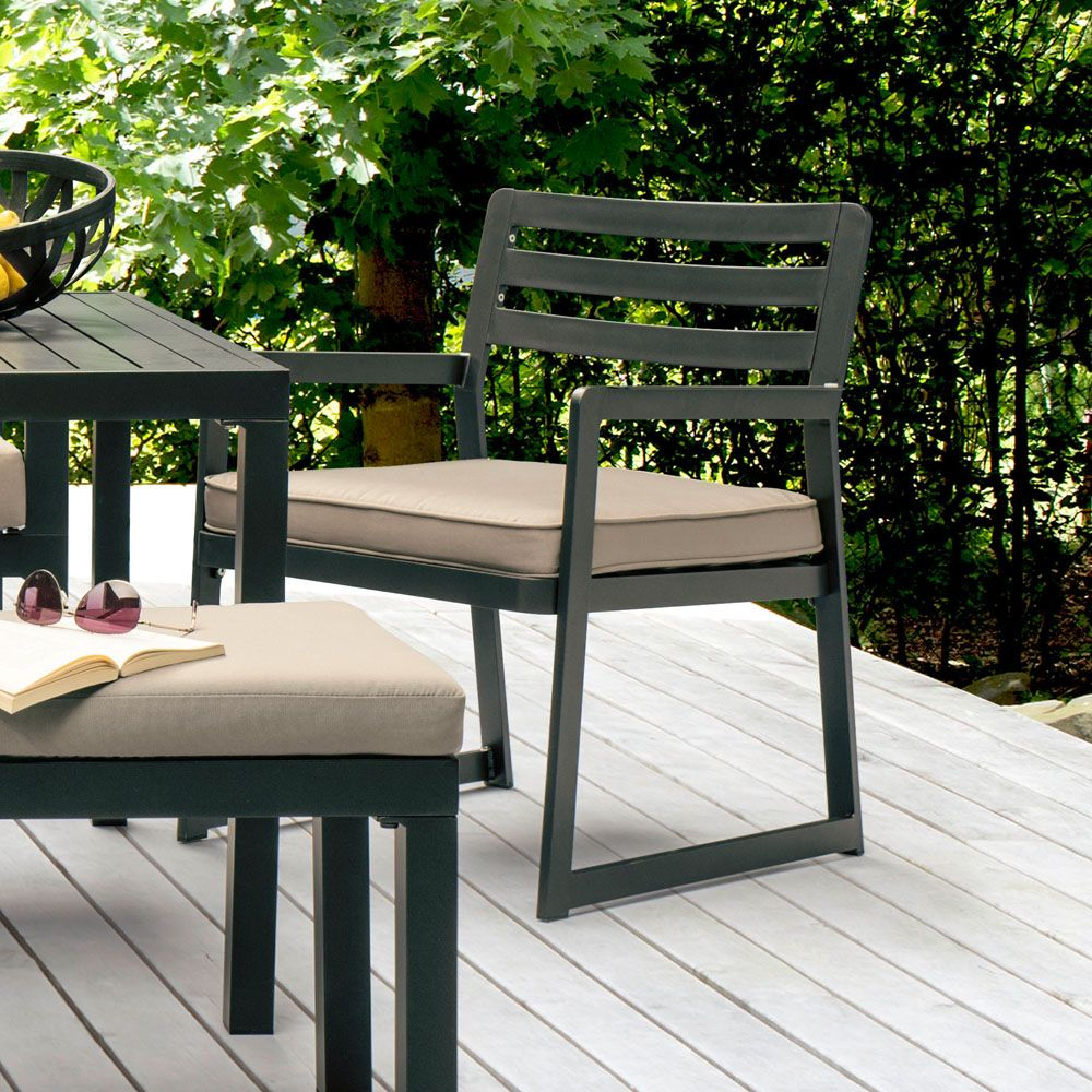 Salon De Jardin Kettler Océan : Canapé D'angle + Table + Banc + Fauteuil destiné Kettler Mobilier De Jardin