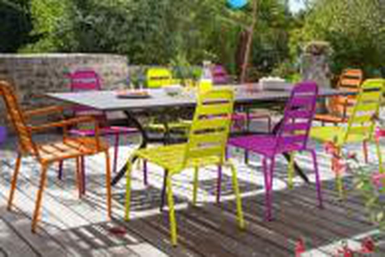 Salon De Jardin Multicolore D'oceo dedans Camif Jardin