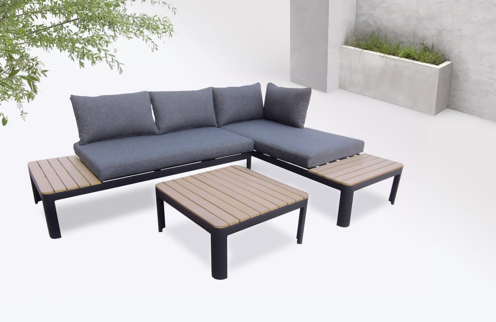 Salon De Jardin Nouveau Garden Furniture Aluminium Ibiza ... avec Salon De Jardin Moorea