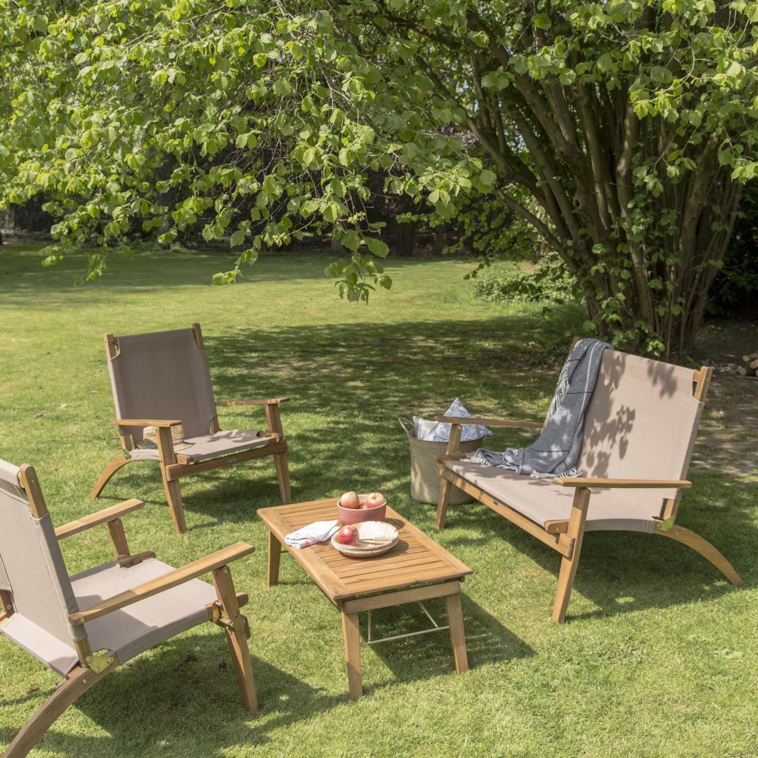 Salon De Jardin Pas Cher : Du Mobilier D'extérieur En Résine ... concernant Salon De Jardin En Bois Pas Cher