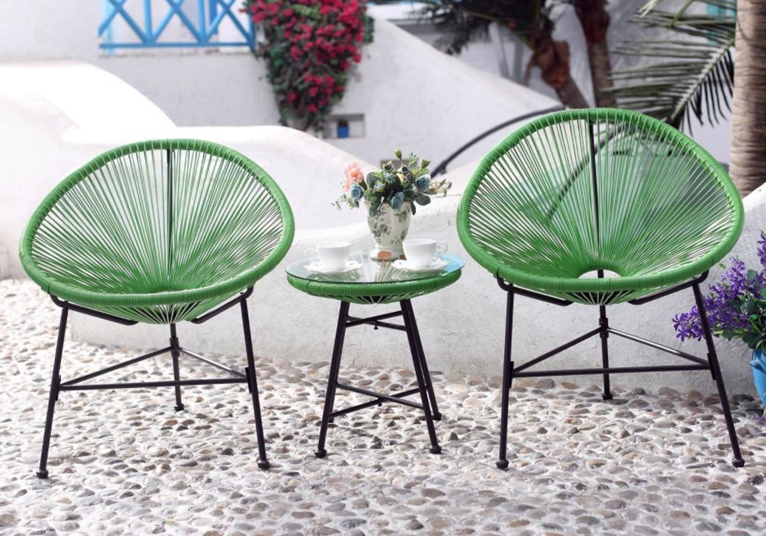 Salon De Jardin Pas Cher : Notre Sélection De Meubles Canons ... avec Table De Jardin Avec Chaise Pas Cher