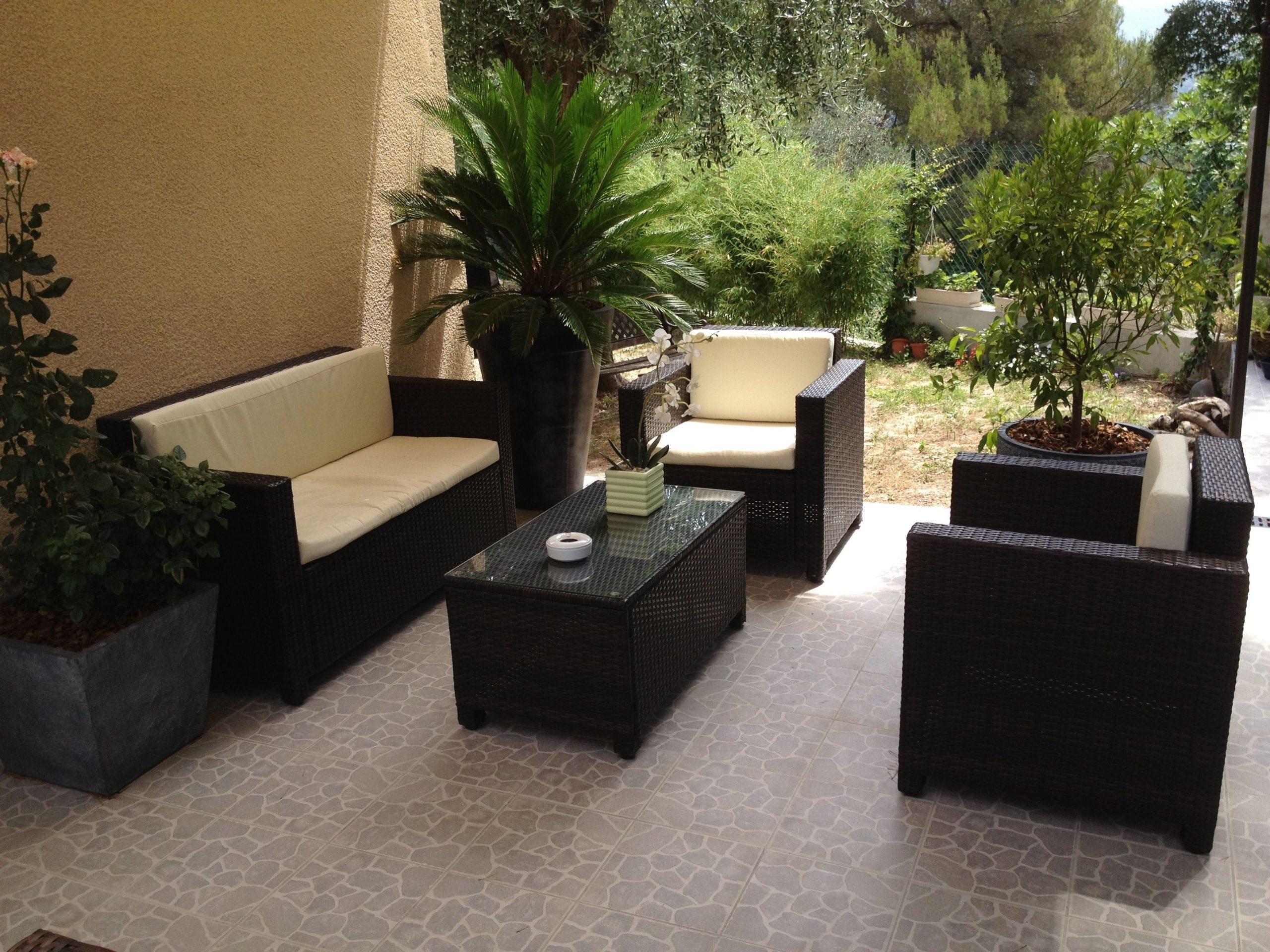 Salon De Jardin Perugia Alice's Garden #terrasse #jardin ... avec Alice Garden Salon De Jardin