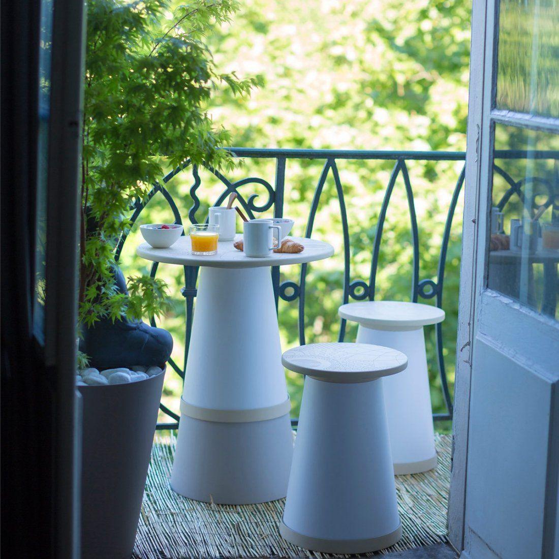 Salon De Jardin Pour Balcon Zen Totem Grosfillex ... tout Salon De Jardin Totem