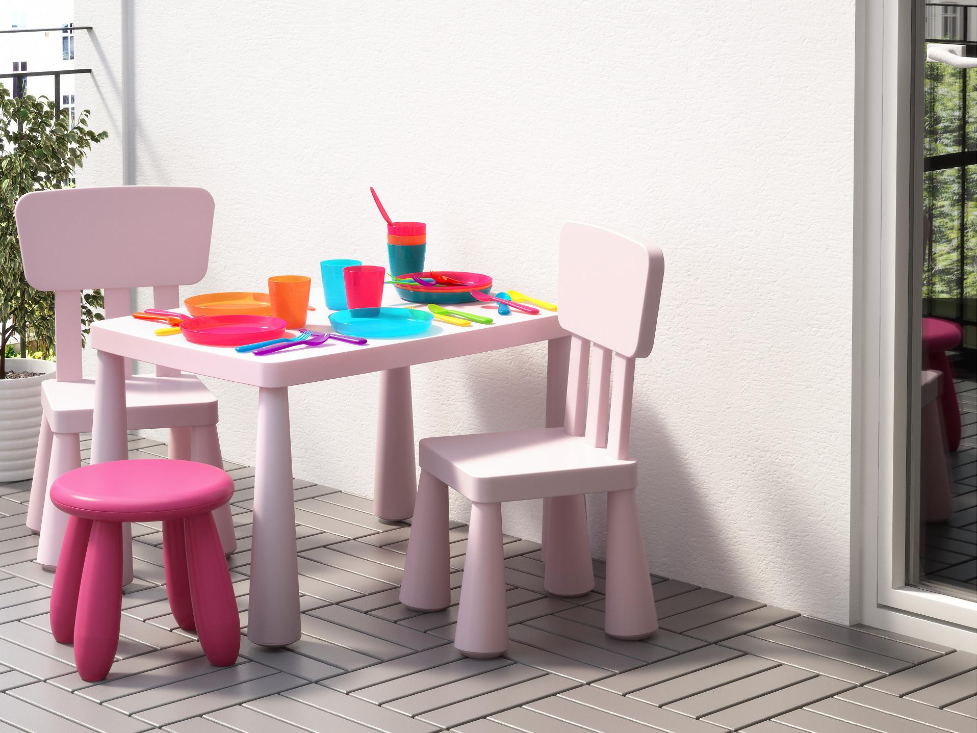Salon De Jardin Pour Enfants : Du Mobilier Comme Les Grands ... tout Table Et Chaise Jardin Enfant