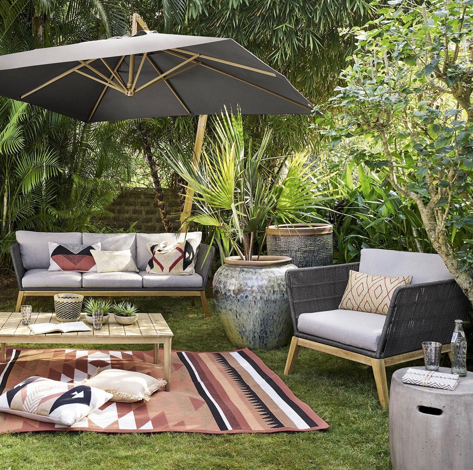 Salon De Jardin Style Bohème Ethnique Chic #boho #decoboho ... dedans Salon De Jardin Vert Anis