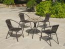 Salon De Jardin Table Ronde Mosaïque Albir Brasil concernant Salon De Jardin Mosaique