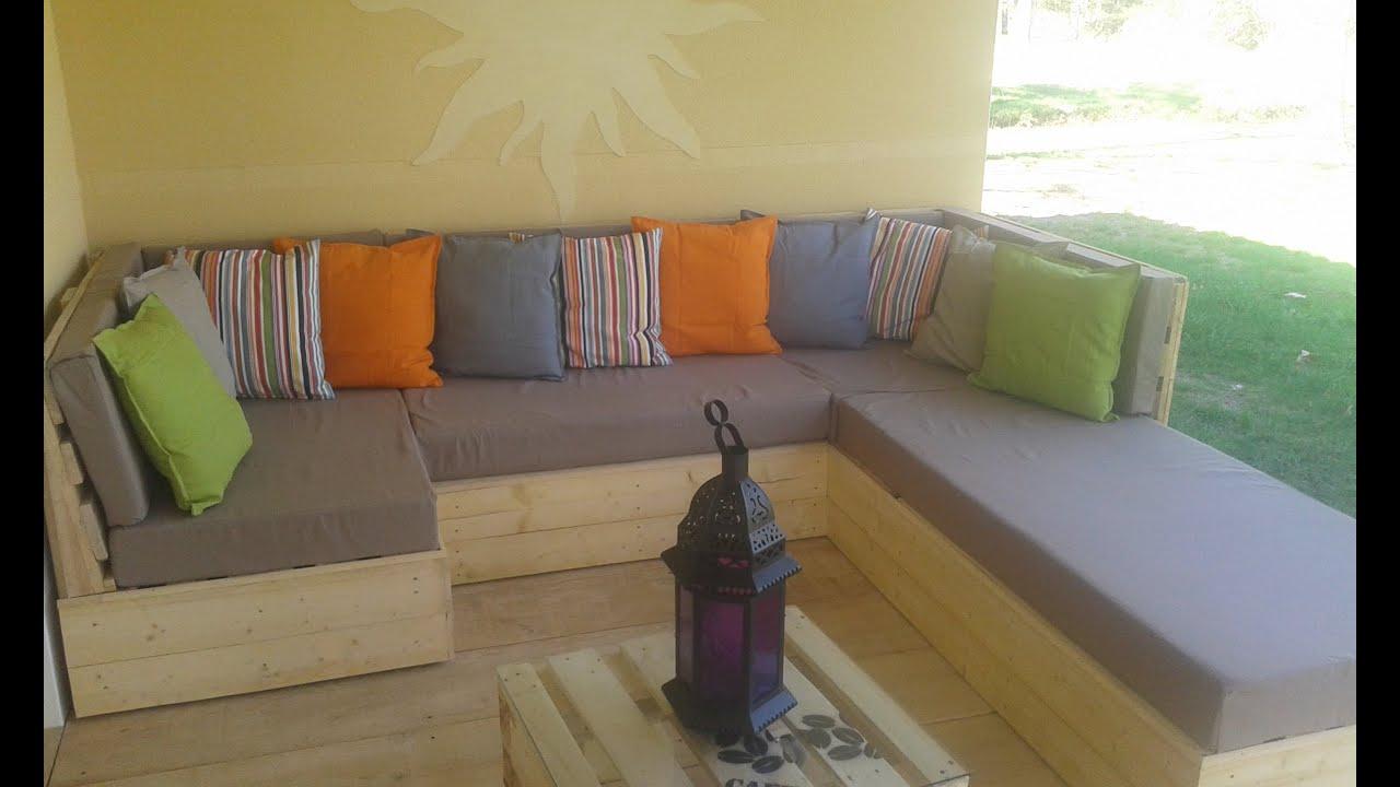 Salon En Palette concernant Salon De Jardin D Angle Pas Cher