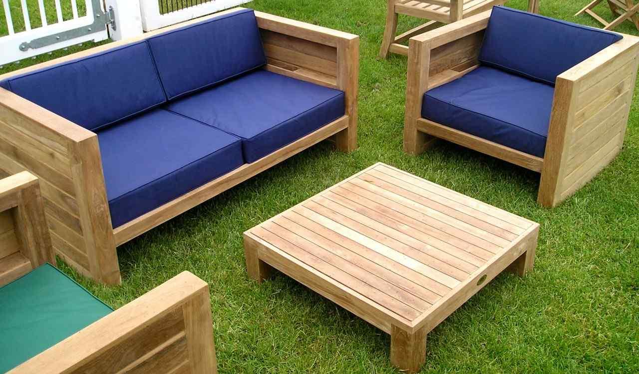 Salon Jardin Bois Pas Cher Concept - Idees Conception Jardin avec Salon De Jardin En Teck Pas Cher