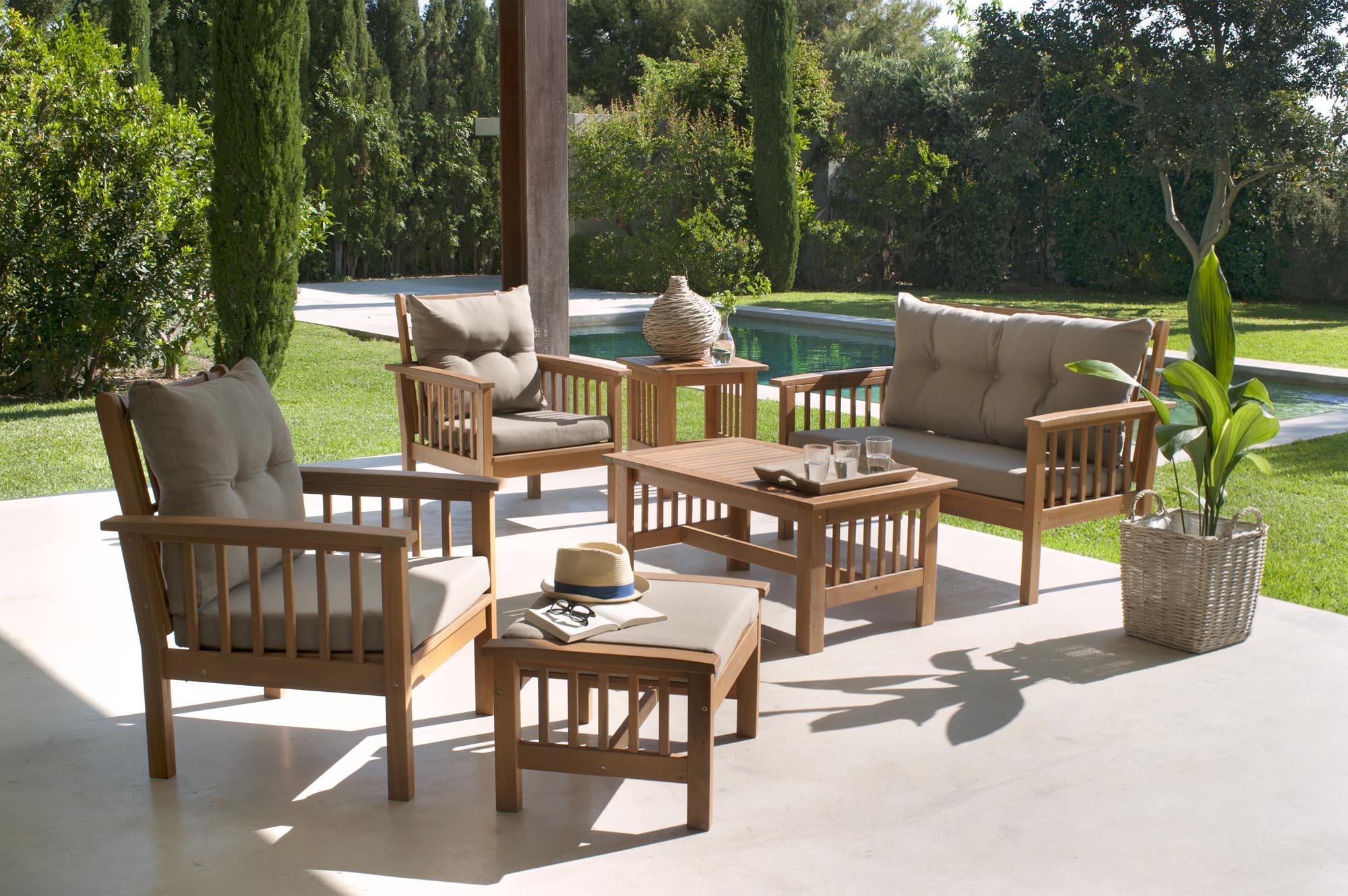 Salon Jardin Carrefour Des Idées - Idees Conception Jardin concernant Salon De Jardin Blanc Carrefour