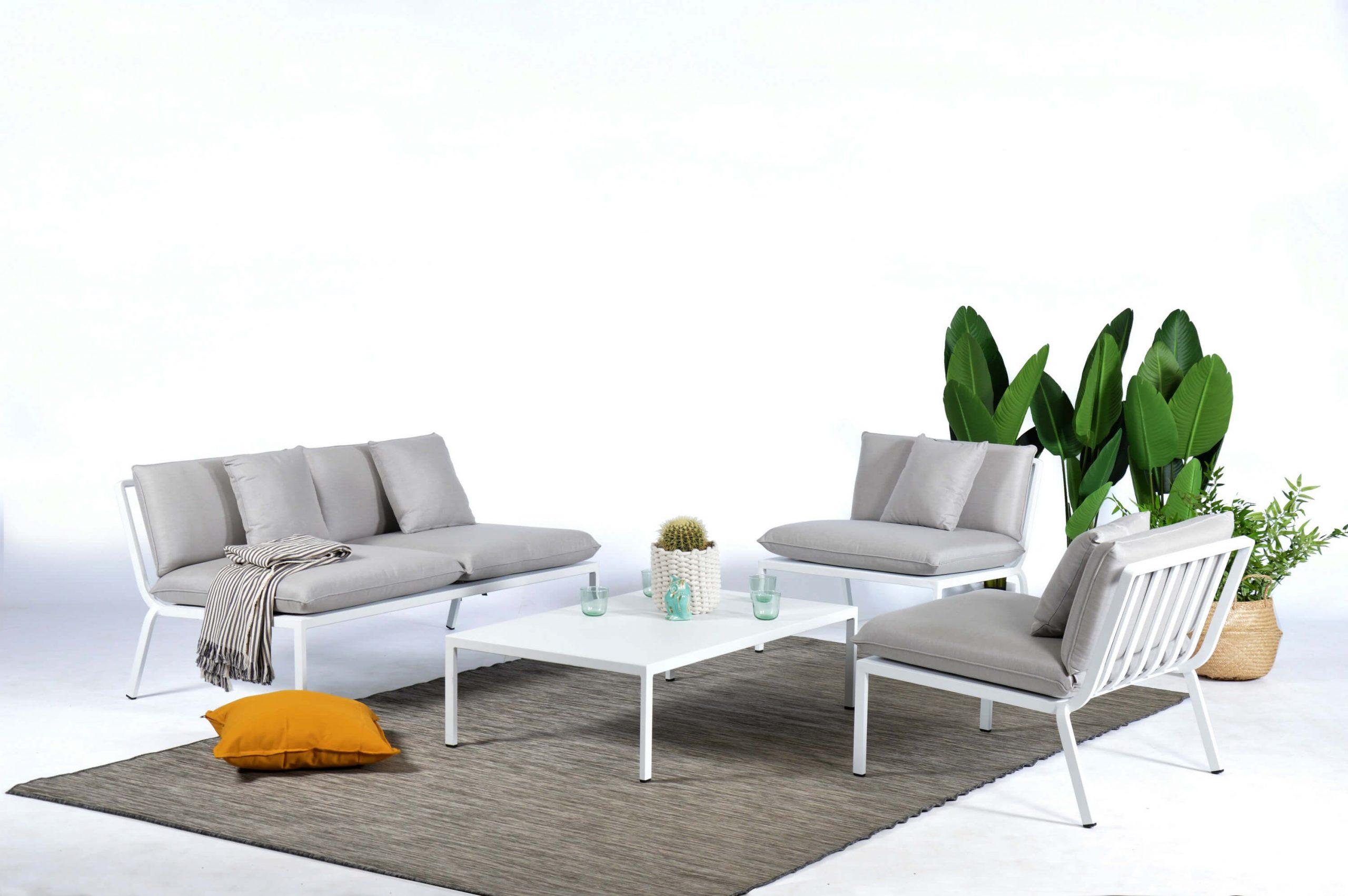 Salon Jardin Design Sunrise pour Salon De Jardin Lumineux