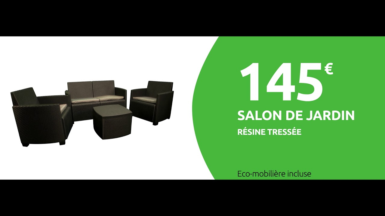Salon Jardin - Mr Bricolage 2019 dedans Auchan Table De Jardin
