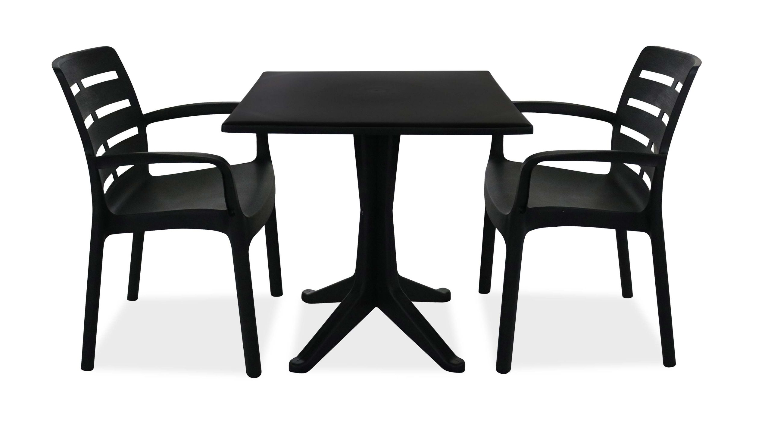Salon Jardin Plastique Table Et Chaises dedans Table Et Chaise De Jardin En Plastique