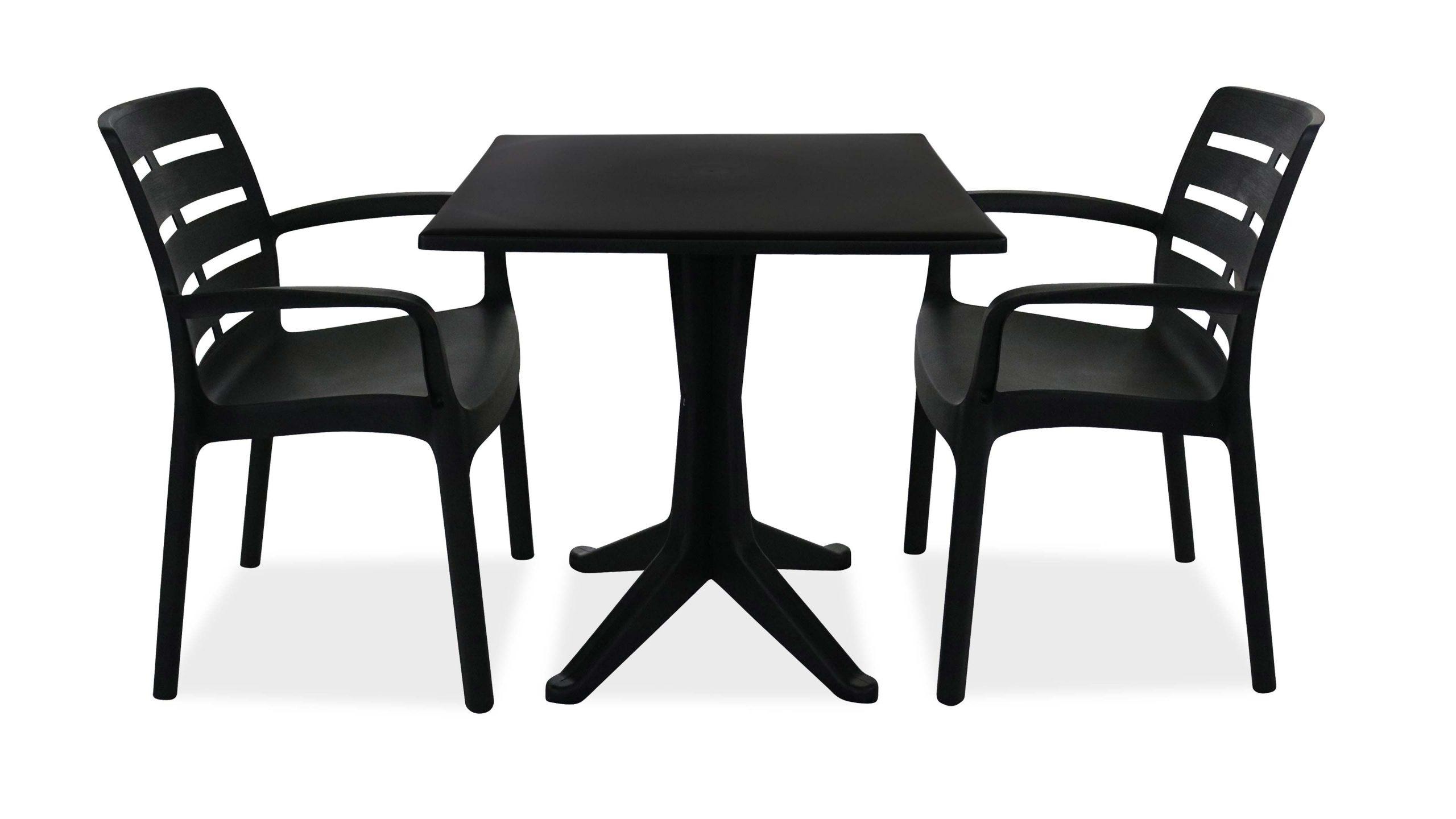 Salon Jardin Plastique Table Et Chaises intérieur Salon De Jardin En Plastique Pas Cher