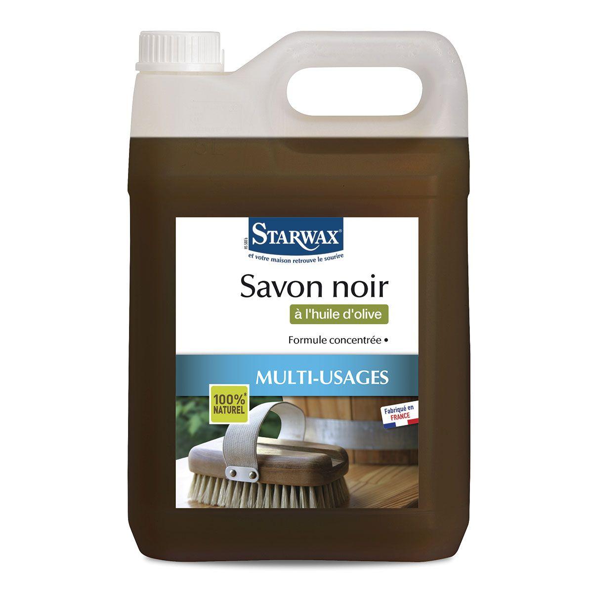 Savon Noir À L'huile D'olive | Starwax, Produits D'entretien ... intérieur Savon Noir Jardin