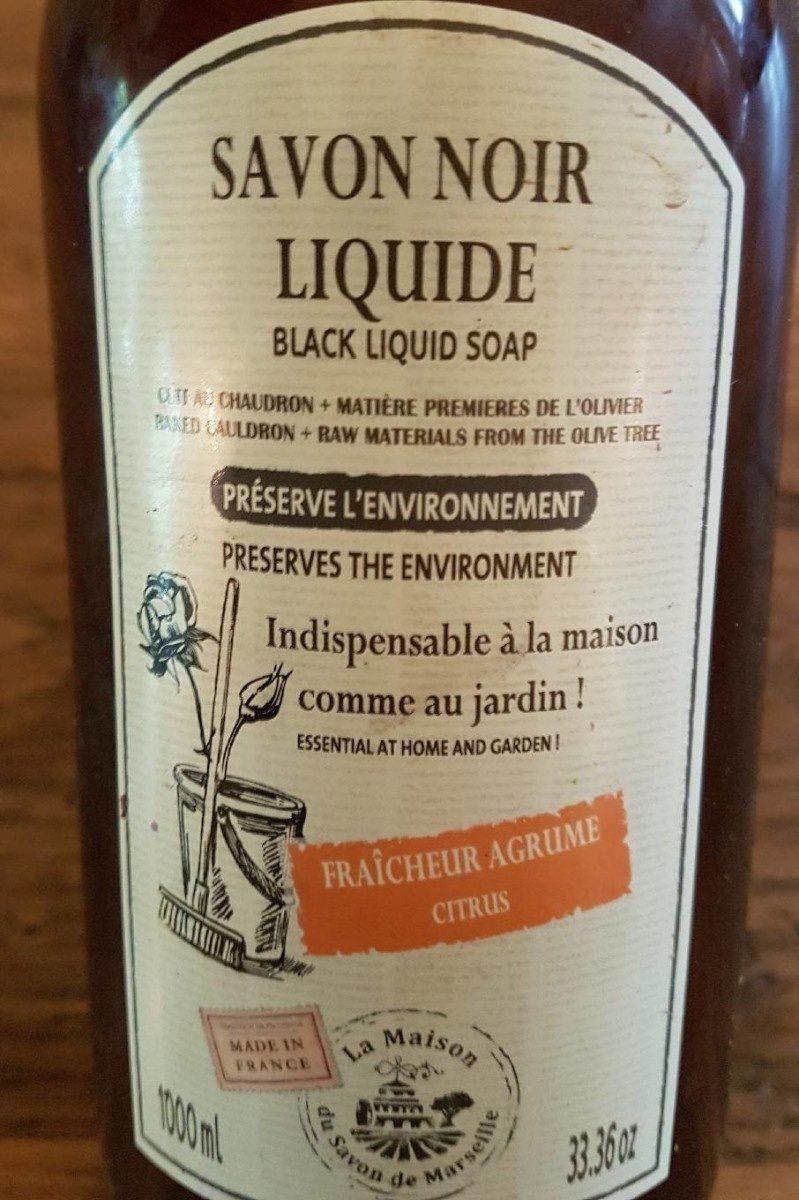 Savon Noir Liquide - à Savon Noir Jardin